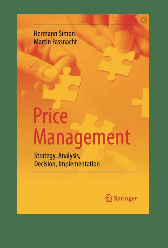 5 livres sur la politique de prix